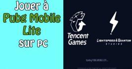 PUBG Mobile Lite sur pc