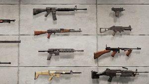 armes à feu dans PUBG Mobile